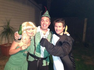 Courtney Love, Peter Pan and a Penguin