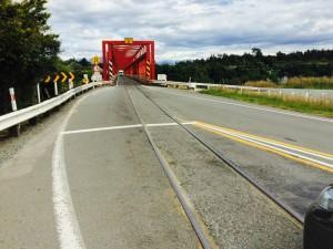 Combination Rail & Road Bridge - click for larger