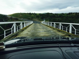 Wooden Car Bridge - click for larger